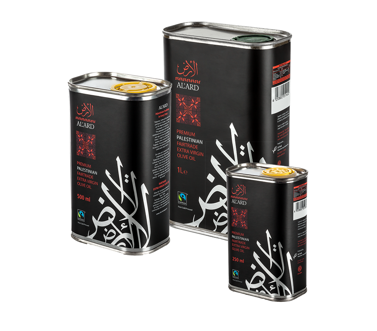 Al'Ard Premium Extra Virgin Olive Oil Tin